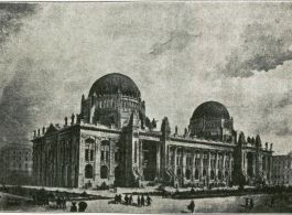 Competition plans for the Budapest Stock and Commodities Exhange Building, 1899|Budapest, V. Szabadság tér