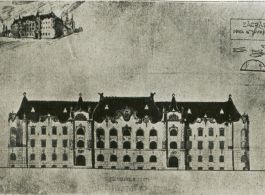 Competition plans for the Postal Administration Building, 1900|Zagreb
